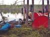 Läger vid Djupträsket maj -09