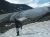 Pastajåkkoglaciären Sarek augusti -09